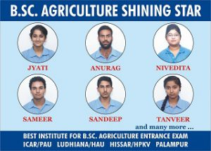 BSc. Agriculture coaching in Chandigarh